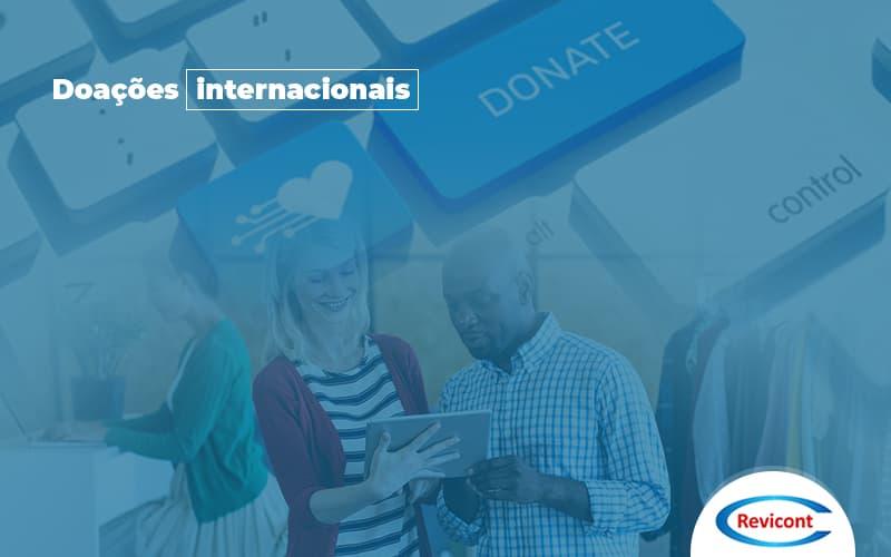 Como receber doações internacionais?