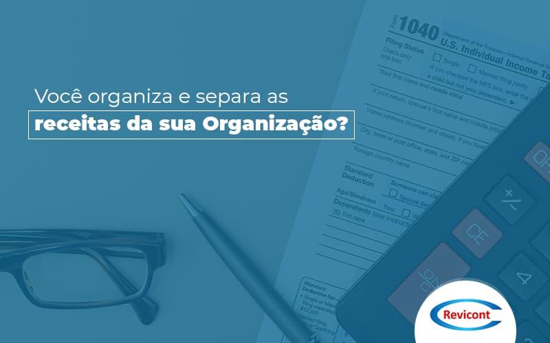Como fazer separação de receitas para ONGs?