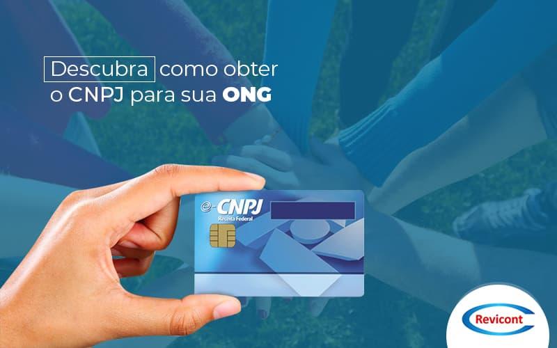 Como obter o CNPJ de uma ONG?